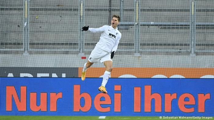 Fußball Bundesliga FC Augsburg vs Union Berlin | Tor (2:1)