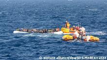 «Ocean Viking» rettet rund 120 Bootsmigranten im Mittelmeer