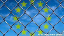 Symbolbild Grenzzaun Europa Grenzkontrollen