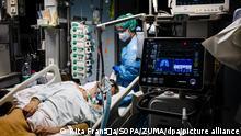 Coronavirus Portugal | Covid-19 Patient auf Intensivstation