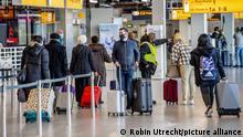 Niederlande Flughafen Schiphol