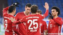 Fußball Bundesliga Schalke 04 v Bayern München | Tor 0:2 Lewandowski