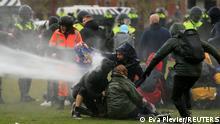 Holland Amsterdam | Coronakrise: Proteste gegen Lockdown