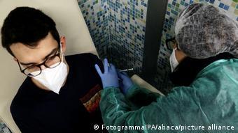 Εμβολιασμοί στην ιταλική πόλη Μπαγκιοβάρα