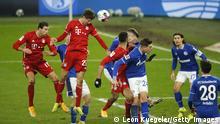 Fußball Bundesliga Schalke 04 v Bayern München | Tor 0:3 Müller