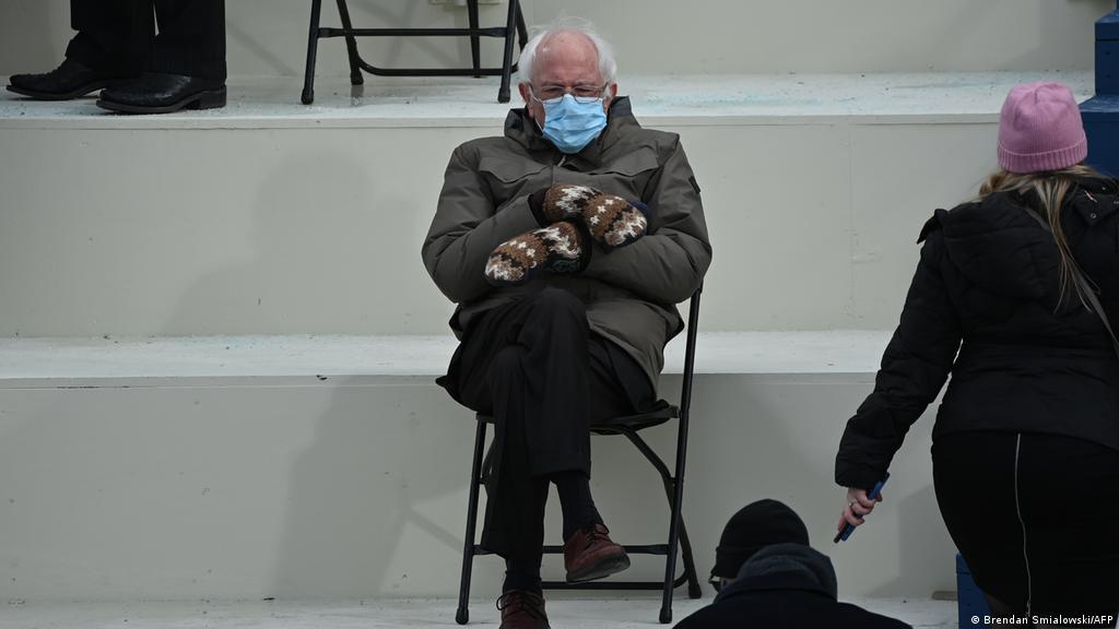 Bernie Sanders Meme To Raise Money For Charity News Dw 25 01 2021
