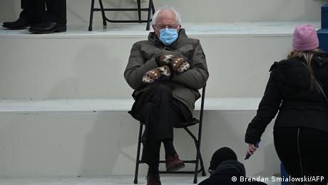 USA I Bernie Sanders at Joe Biden's inauguration