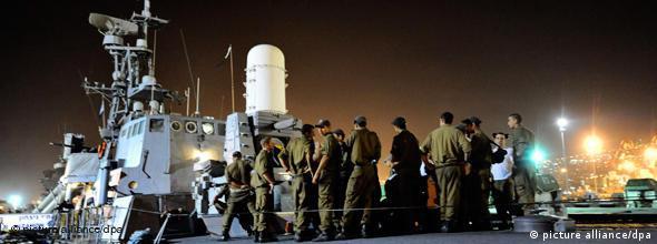 NO FLASH Israelische Flotte will Gaza-Hilfe stoppen