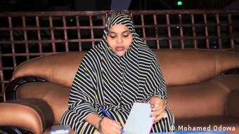 Afrika Somalia Mogadischu Luul Isak Adan Politik