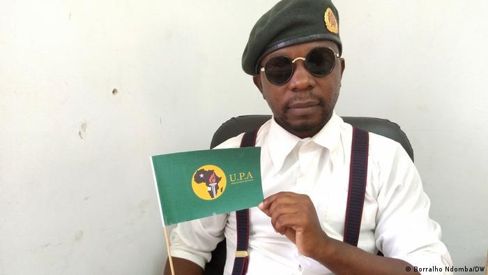 Pedrowski Teka, ativista angolano