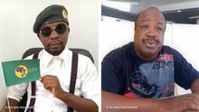 Angola Kombo Pedrowski Teka und Dinho Chingunji