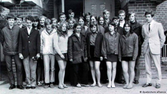 Школьный класс Ангелы Меркель, 1971 год