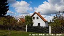 Дом Ангелы Меркель в деревне Хоэнвальде