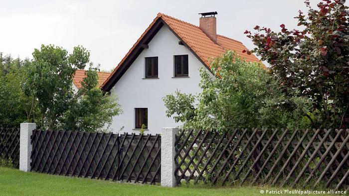 Merkel's house in Hohenwalde