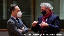 Brüssel | Treffen EU-Außenminister | Maas und Asselborn