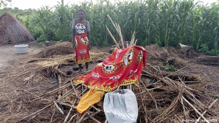 Ciclone também destruiu áreas ainda não quantificadas de culturas de milho