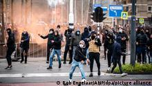 Niederlande | Coronavirus | Proteste in Eindhoven