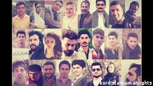 Iran Verhaftete kurdische Aktivisten