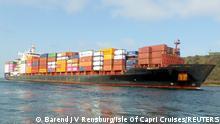 Containerschiff MV Mozart