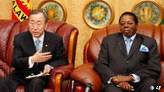 Homosexualität Begnadigung durch Präsident Mutharika