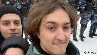 Дмитрий Койфман на акции в поддержку Навального