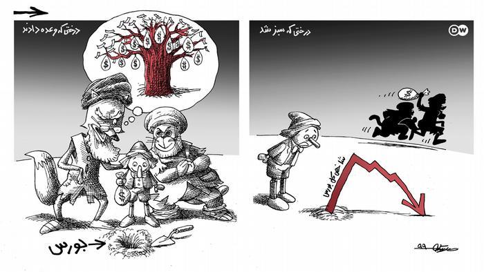 بازار بورس و پدیده مالباختگی در ایران