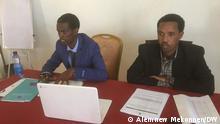 Amhara Democratic Forces Movement (ADFM) , Getachew Wodajo , Tesfahun Alemneh Titel: Amhara Democratic Forces Movement (ADFM) in Bahardar Meeting Autor/Copyright: Alemnew Mekonnen Schlagworte: Ethiopia, Addis Ababa, Äthiopien, Debre Berhan