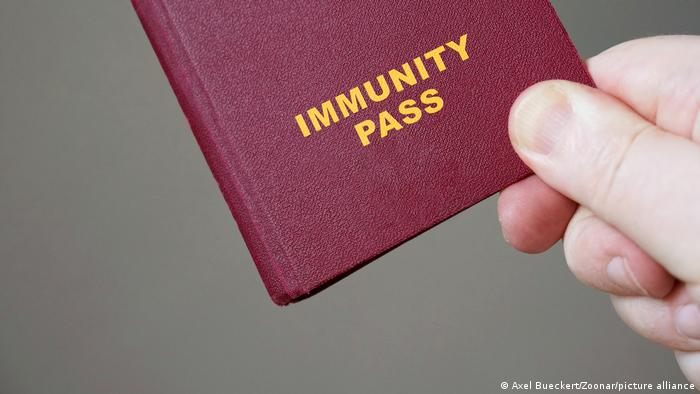 Symbol image of an Immunity Pass