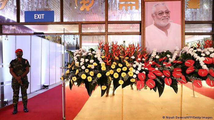 Ghana state funeral of Jerry John Rawlings