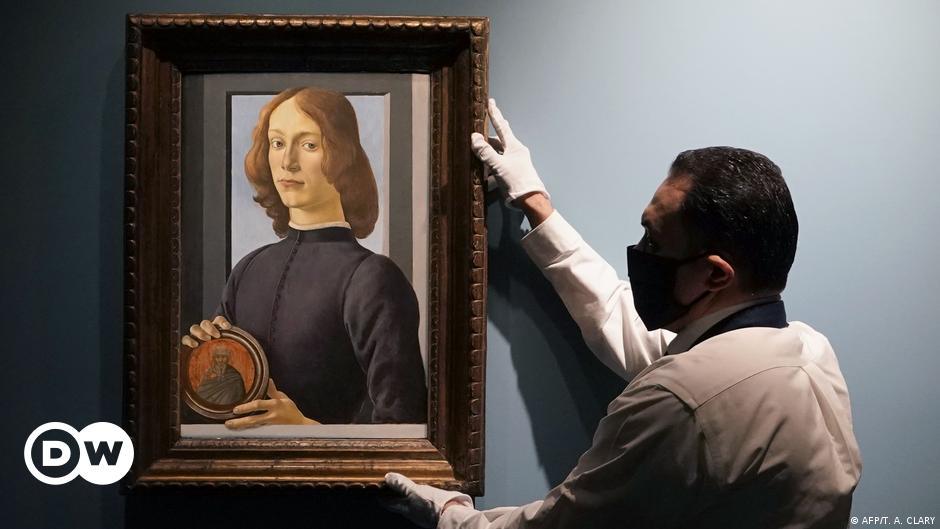 Rekordjunge: Botticelli-Porträt wird versteigert