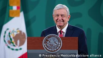 Mexiko   Präsident Andres ManuelLopez Obrador