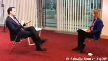 Jens Spahn im DW Interview mit Michaela Küfner