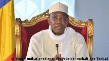 Tschad Präsident Idriss Déby Itno