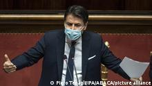 Italien Ministerpräsident Giuseppe Conte
