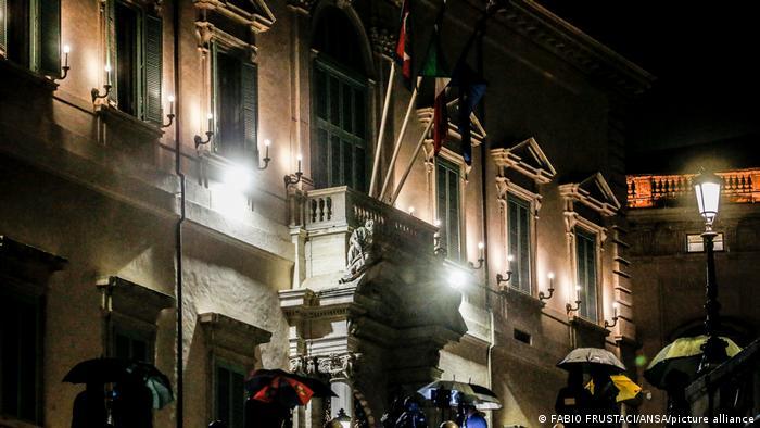Italien Rom Quirinalspalast | Regierungssitz Guiseppe Conte