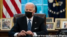 USA I Joe Biden unterzeichnet Executive Order