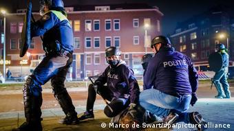 Беспорядки в Амстердаме