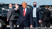 Ex-US Präsident Donald Trump