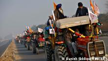 Indien Tag der Republik Traktor Rally
