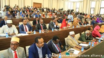 Somalia Mogadischu Parlament
