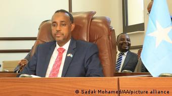 Somalia Mogadischu Premierminister Mohamed Hussein Roble