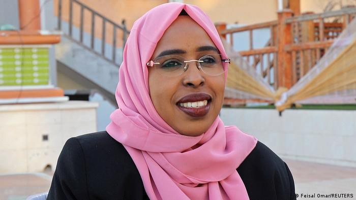 Somalia Mogadischu Abgeordnete Amina Mohamed Abdi