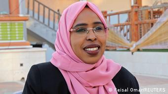 Abgeordnete Amina Mohamed Abdi