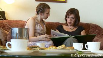 Марина Вайсбанд со своей матерью Оксаной