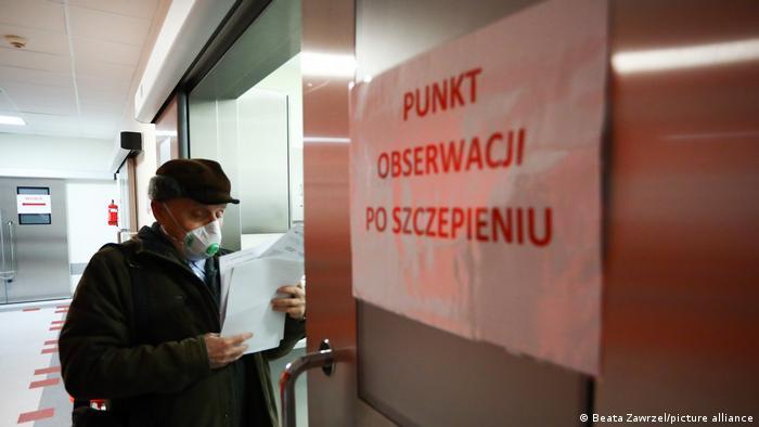 Polen Impfstart gegen Covid-19
