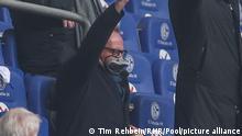 Karl-Heinz Rummenigge mit Tauchermaske | FC Schalke 04 - FC Bayern München