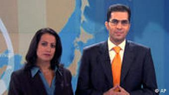 Shiulie Ghosh and Sami Zeidan of Al Jazeera