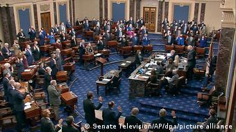 На заседании Сената США 27 января