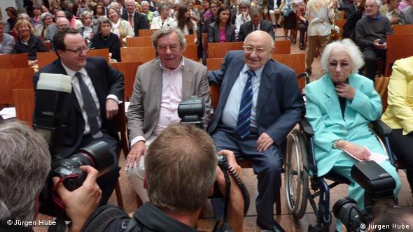 Marcel Reich-Ranicki bei der Festveranstaltung im Jüdischen Museum Frankfurt Flash