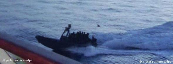Israelisches Marineschnellboot (Foto: dpa)